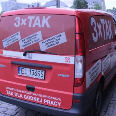 Akcja 3xTAK w Słupsku